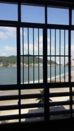 Apartamento vista Mar com 2 dorms. 1 suite com 106 m², gar fechada-Gonzaguinha-São Vicente