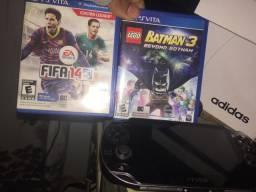 Ps Vita com dois jogos