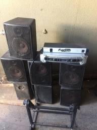 Equipamento de som (somente venda)