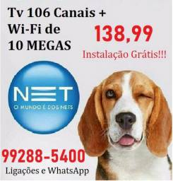 WiFi 10 megas | Tv HD _99288-5400
