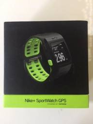 Relógio Nike GPS TomTom Nike + , Preto com verde, Para corridas, Cascavel PR