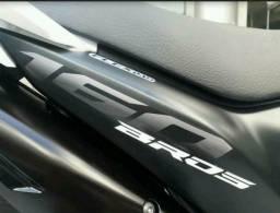 Honda bros esd semi nova - 2016