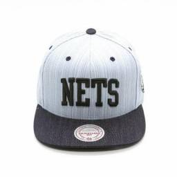 Boné Mitchell e ness Brooklyn Nets 2d59f007f0c