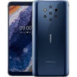 Nokia 9 6GB Ram 128GB Rom 5 Câmeras traseiras Tela 5.9 4K 3320Mah