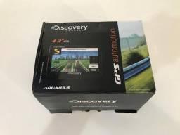 Gps Automotivo Aquarius Discovery Channel 4,3 Slim