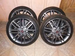Vende se jogo rodas aro 17 pneus novos zero contato * zap - 2020