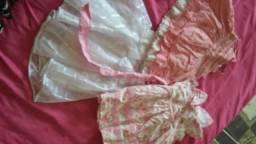 Troco roupas de bebê menina