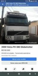 Volvo FH 380 teto alto - 2000