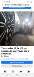 Rodas 19 5x100 pneus 215/35