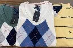 3 Blusas de linha Tommy Hilfiger tam P, M ou G