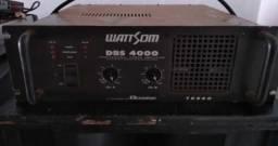 Equipamentos para som, mesa de som, amplificador e caixas