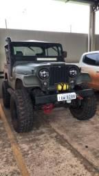 Jeep willys 6cc pronto para trilha