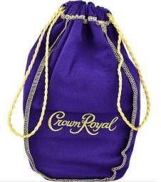 3x Capas Originais Whisky Crown Royal Importado Canadá Colecionáveis Raridade Total Novas!