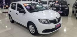 Renault Sandero Authentique 1.0 2020 Completo