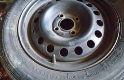 Troco roda 15 em 14 da FORD