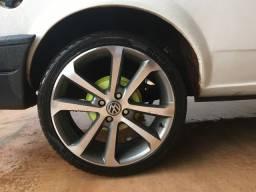 Rodas aro 17 pneu 205/40r17 momo m3