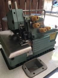 Máquina de costura Overlok 5 fios