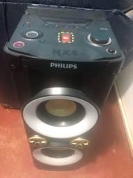 Caixa de som Philips nx4