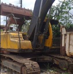 Escavadeira hidráulica volvo pc