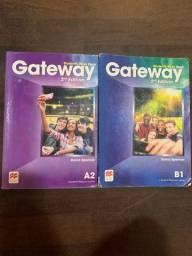 Conjunto de inglês Gateway (A2-B1) P/ iniciantes