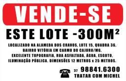 Lote 300m2 - Carmo do Cajuru/MG