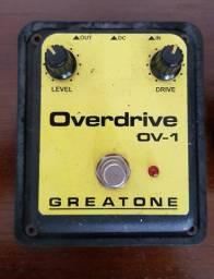 Pedal de distorção Overdrive OV-1