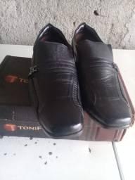 Sapato Social Masculino Preto n°41