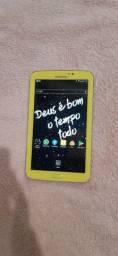 Tablet Samsung Tab kids cm detalhe no Display Leia a descrição