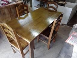 Mesa com 4 Cadeiras Produto Novo Leia o Anúncio