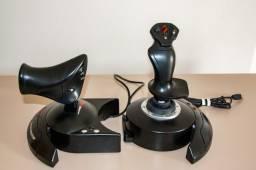 Controle joystick Thrustmaster T.Flight Hotas X