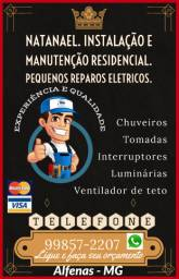 Eletricista Residencial. Pequenos reparos