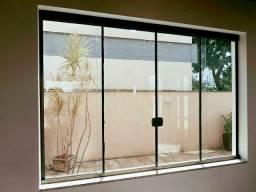 Esquadrias de alumínio e vidros temperado comprar usado  Curitiba
