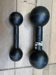 Usado, Halteres 10 kg e 3kg comprar usado  Porto Alegre