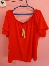 Blusa Vermelha 48