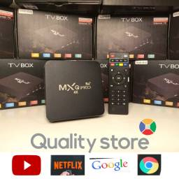 Tv Box MXQ Pro 4K 5G 6 meses de garantia Entregamos Tv Smart