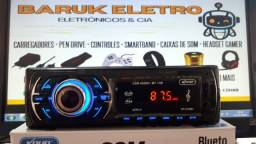 Rádio Som Automotivo Bluetooth n toca Cd + Controle