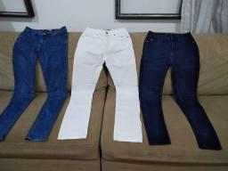 3 calças Zara