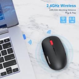 Mouse Bluetooth Tecknet 2.4ghz