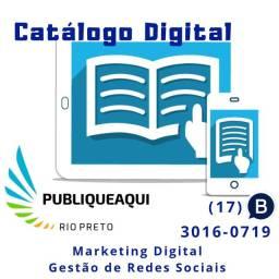 Catálogo digital e interativo