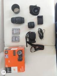 Sony a37 máquina fotografia completa