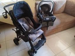 KIT: carrinho/bebê conforto/babás eletrônicas BURIGOTTO