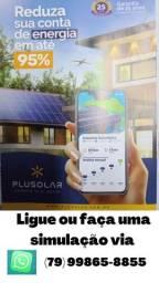 Energia solar na sua casa ou empresa