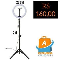 Ring Light Com Pedestal 26 CM + Entrega Grátis