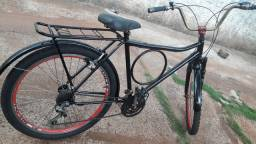Bicicleta barra forte aro 26