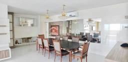 AL - Apartamento frente mar/ 5 quartos/ varanda gourmet/ andar alto