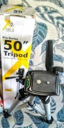 """Tripé Pro série 50"""" Xit Photo"""