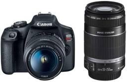 Kit Câmera dslr Canon eos Rebel T7 com Lentes