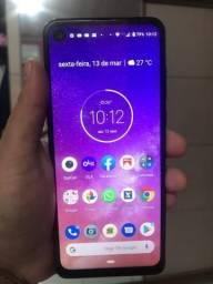 Moto one vision 128gb pra vender com urgência