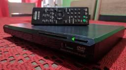 DVD Play SONY com entrada USB frontal