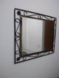 Aparador de ferro + espelho